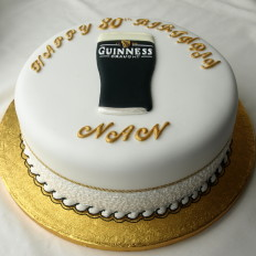 Guinness Birthday Cake