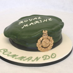 Royal Marine Commando- Green Berets Celebration Cake