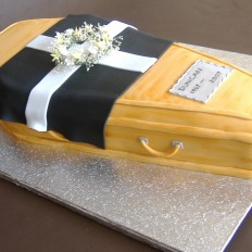 Past it at 40, Coffin Cake