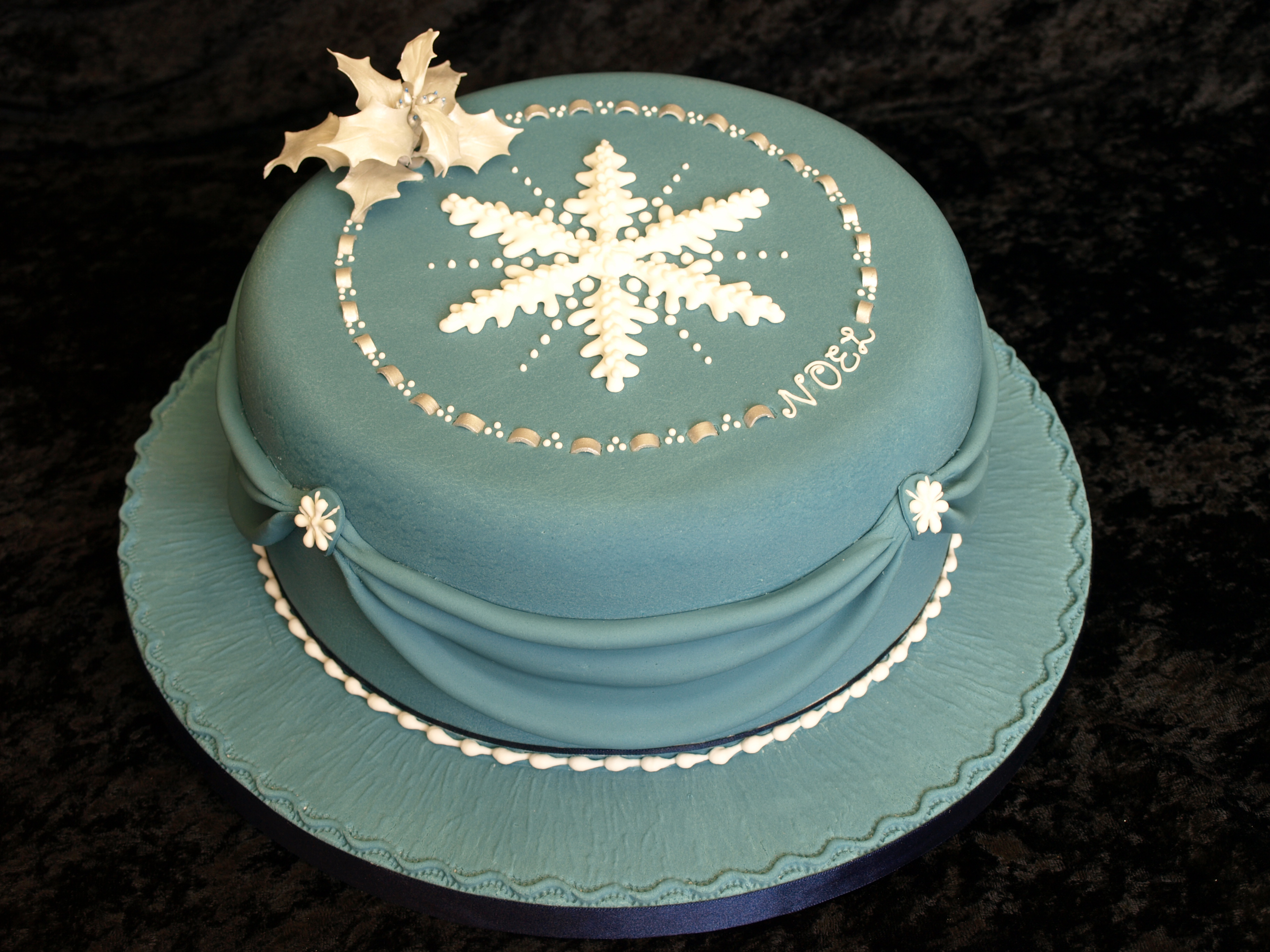 Christmas cakes - Donna Jane Cakes
