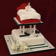 The Wedding Night! Wedding Cake