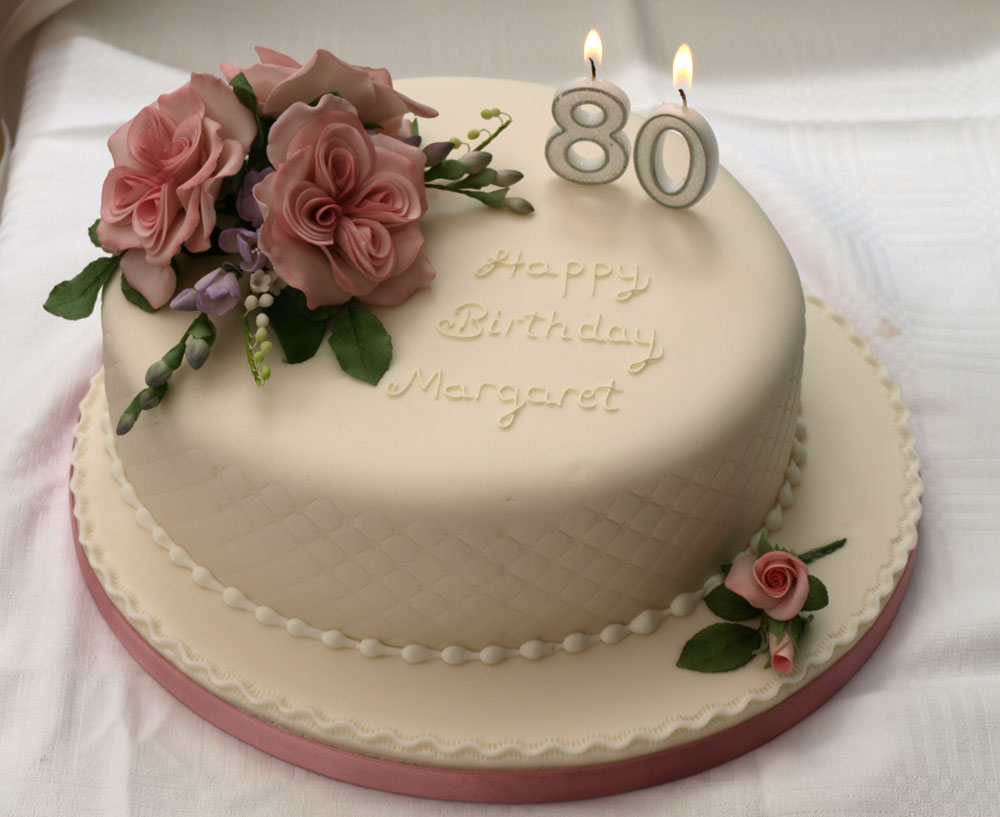 Birthday Cake Designs Roses : Galleries - Birthday Cakes - Donna Jane Cakes