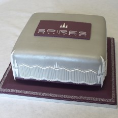 Spires Restaurant Cake by Donna Jane Cakes, Cornwall - Rick Stein Launch